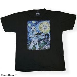 Star Wars Graphic tee Starry Night XL